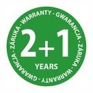 Przedłużona gwarancja 2+1 rok