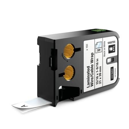 Etykiety Dymo XTL 1868705 białe/czarny druk, 21x39 mm, samolaminujące
