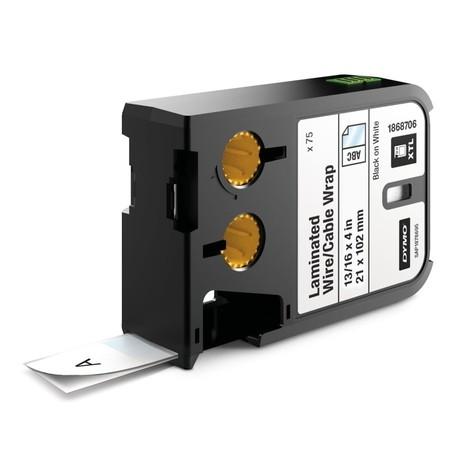 Etykiety Dymo XTL 1868706 białe/czarny druk, 21x102 mm, samolaminujące