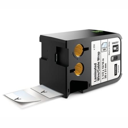 Etykiety Dymo XTL 1868707 białe/czarny druk, 38x21 mm, samolaminujące