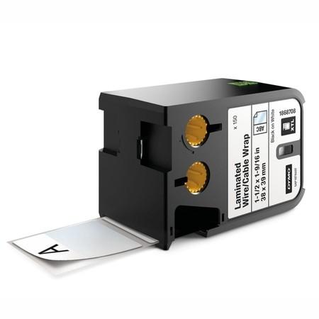 Etykiety Dymo XTL 1868708 białe/czarny druk, 38x39 mm, samolaminujące