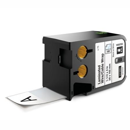 Etykiety Dymo XTL 1868709 białe/czarny druk, 38x102 mm, samolaminujące