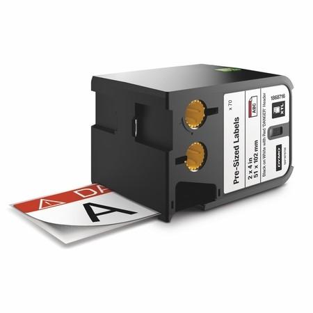 Etykiety Dymo XTL 1868716 z czerwonym nagłówkiem, 51x102 mm, DANGER