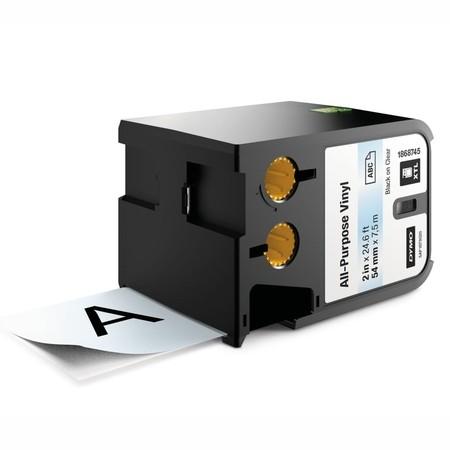 Taśma Dymo XTL 1868745 przezroczysta/czarny druk, 54 mm, winylowa