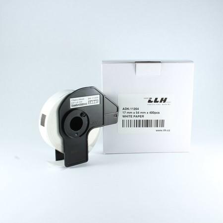 Etykiety papierowe ADK11204, 17x54 mm, 400 szt.