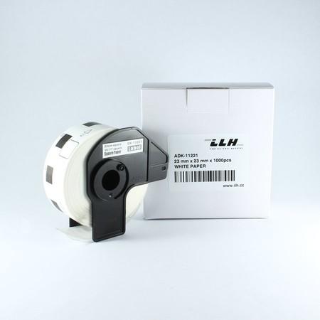Etykiety papierowe ADK11221, 23x23 mm, 1000 szt.