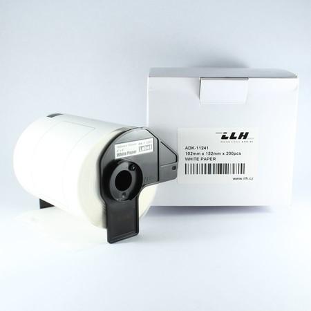 Etykiety papierowe ADK11241, 102x152 mm, 200 szt.