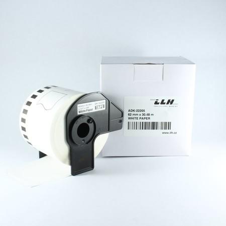 Taśma papierowa ciągła ADK22205, szerokość 62 mm