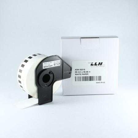 Taśma papierowa ciągła ADK22210, szerokość 29 mm