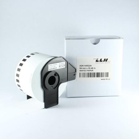 Taśma papierowa ciągła ADKN55224, szerokość 54 mm, bez kleju