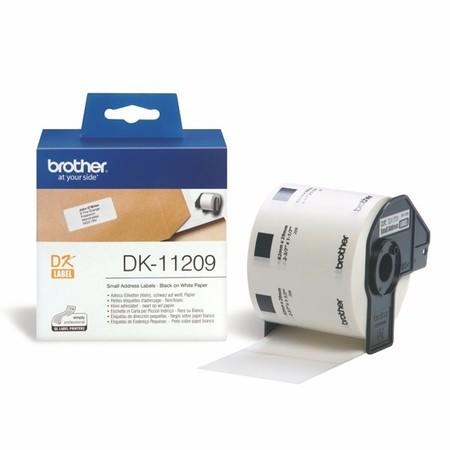 Etykiety papierowe Brother DK11209, 62x29 mm, 800 szt.