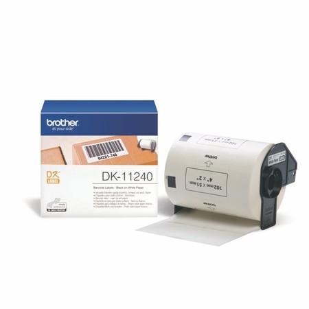 Etykiety papierowe Brother DK11240, 102x51 mm, 600 szt.