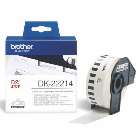 Taśma papierowa ciągła Brother DK22214, szerokość 12 mm