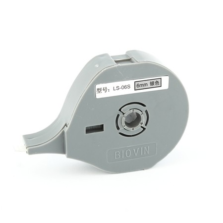 Taśma samoprzylepna LS-06S srebrna, 6 mm x 8 m