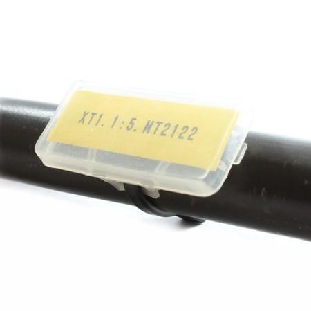 Oznacznik MPL-1, długość 30 mm, szerokość 9 mm, 100 szt.