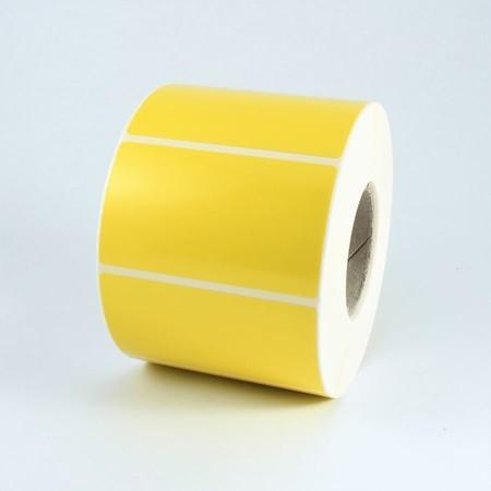 Etykiety papierowe żółte 60x30 mm, 2000 szt.