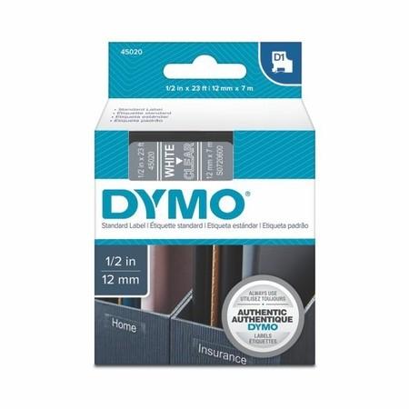 Taśma Dymo S0720600 przezroczysta/biały druk, 12 mm