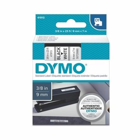 Taśma Dymo S0720680 biała/czarny druk, 9 mm