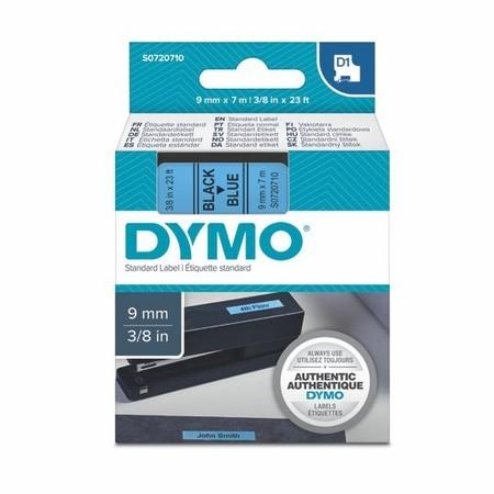 Taśma Dymo S0720710 niebieska/czarny druk, 9 mm