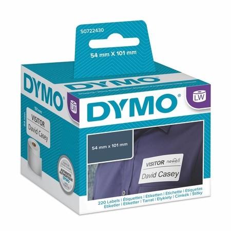 Etykiety papierowe Dymo S0722430, 101x54 mm, 220 szt.