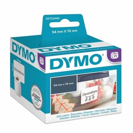 Etykiety papierowe Dymo S0722440, 70x54 mm, 320 szt.