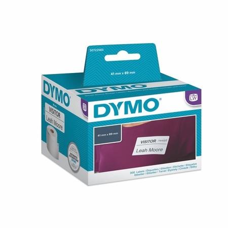 Etykiety papierowe Dymo S0720560, 89x41mm, usuwalne, 300 szt.
