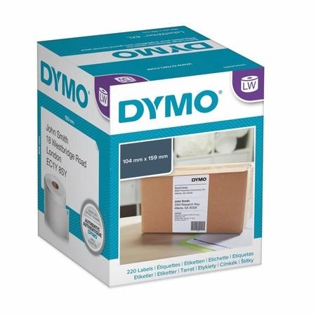 Etykiety papierowe Dymo S0722660, 159x104 mm, 220 szt.