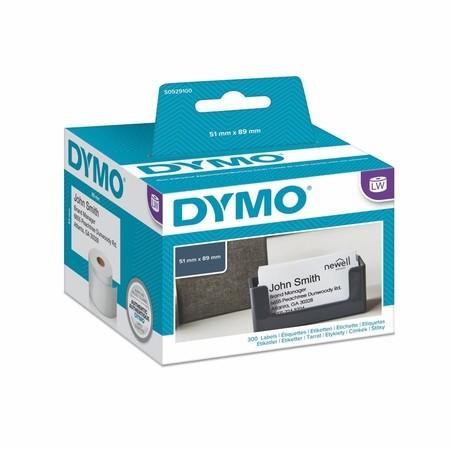 Etykiety papierowe Dymo S0929100, 89x51 mm, bez kleju, 300 szt.