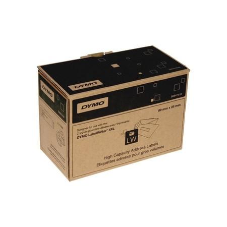 Etykiety papierowe Dymo S0947410, 89x28 mm, mega rolki, 2x1050 szt.