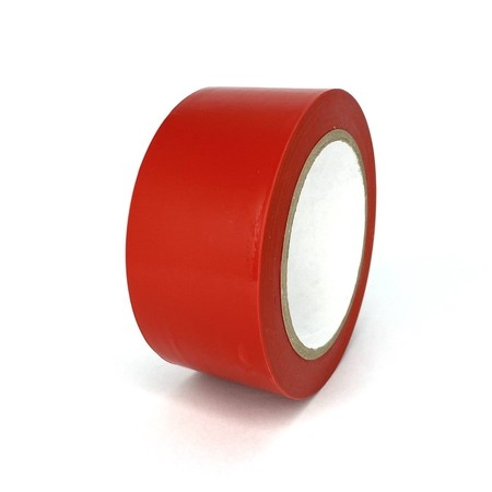 Taśma podłogowa TMF04 czerwona 50 mm, długość 30 m