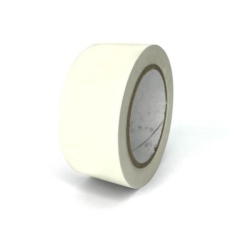 Taśma podłogowa TMF06 biała 50 mm, długość 30 m