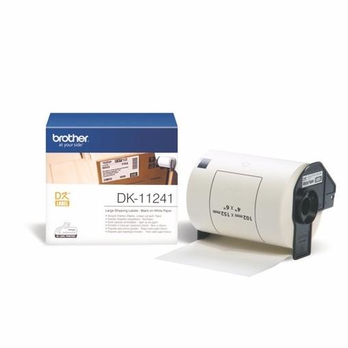 Etykiety papierowe Brother DK11241, 102x152 mm, 200 szt.